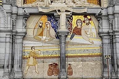 Lourdes - mosaïque Cana